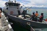 Kapal Angkatan Laut Talise sandar di Pangkalan TNI AL Palu