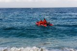 Basarnas Mataram menghentikan pencarian pelajar hilang di laut