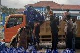 Polisi awasi penyaluran bansos beras di Yahukimo