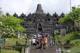 Pedagang dan parkir Candi Borobudur dipindah ke Kujon