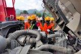 Tingkatkan keamanan distribusi BBM, PT EPN menggelar DDT bagi personel TNI Korem 032 Wirabraja