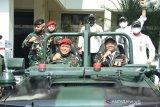 Menkopolhukam: Pemerintah bahas draf Perpres pelibatan TNI tangani terorisme