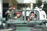 Mahfud MD: Pemerintah masih bahas draf Perpres pelibatan TNI tangani terorisme