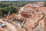 Jalan tol Sumsel-Bengkulu seksi I baru tersambung 6,5 kilometer