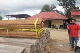 Polisi akan selidiki cukong kayu ilegal yang diamankan dari HPT