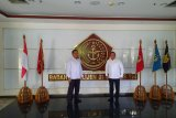 Dodi Reza temui Kepala BAIS, Kabupaten Muba siap wujudkan zero konflik