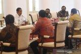 Jokowi jelaskan penggunaan anggaran pada pimpinan MPR