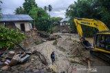 Bencana abrasi sungai di Sigi