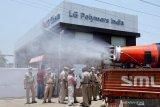 Ledakan gas tewaskan 12 orang, Polisi India telah menangkap 12 pejabat LG