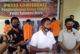 Polda Sulut tangkap empat tersangka narkotika sabu-sabu