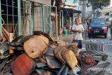 40 kepala keluarga di Jalan Minangkabau kehilangan tempat tinggal pasca-kebakaran permukiman