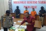 Polda Riau sita 15,8 kilogram sabu-sabu Malaysia