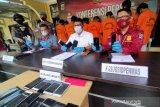 Ditreskrimum Polda Sulteng ringkus pelaku jambret HP sadis lintas kabupaten