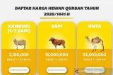 ACT Sumsel targetkan 200 ekor hewan kurban untuk warga kurang mampu