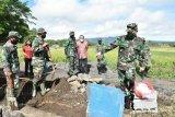 Pangdam XIII/Merdeka Tinjau Pelaksanaan TMMD ke-108 di Tempang
