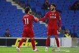 Liverpool bekuk tuan rumah Brighton 3-1, Salah jadi aktor kemenangan