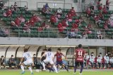 Laga Okayama kontra Kitakyushu tandai kembalinya suporter Jepang ke stadion
