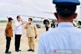 Presiden Jokowi tekankan pentingnya pengendalian lalu lintas di perbatasan