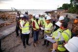 Wagub dorong percepatan pembangunan pengaman abrasi pantai Galesong Takalar