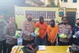 Polisi gagalkan peredaran tiga kilogram sabu-sabu di Medan