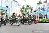Panglima TNI semangati Babinsa dan pengemudi ojek daring salurkan bantuan