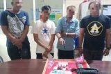 Satu anggota dan dua pecatan Polri ditangkap saat gunakan sabu di sebuah hotel