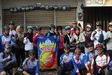 Jasa Raharja Lampung bersepeda melawan COVID-19