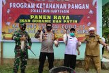Kampung Tangkal COVID-19 di Desa Gajah Mati Muba diresmikan