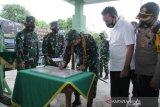 Pangdam II Sriwijaya Kunker ke Muba, dorong sinergitas cegah COVID-19 dan Karhutla