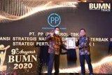 PP berhasil raih dua penghargaan Anugerah BUMN 2020