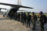 Sebanyak 150 prajurit Yontaifib 1 berlatih terjun tempur di Lanudal Pondok Cabe