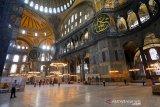 Hagia Sophia menyambut umat Muslim untuk shalat Jumat perdana