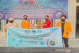 Mahasiswa FKM UHO Kendari laksanakan KkN tematik edukasi pencegahan COVID-19