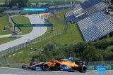 Norris menahan sakit di sesi latihan bebas di GP Styria
