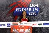 Mutiara  atlet terbaik Liga PB Djarum 2020 setelah bikin kejutan