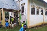 Satgas TMMD lakukan pengecatan Gereja GPBI