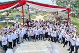 Ratusan Pengurus Bravo Lima Lampung gelar silaturahmi
