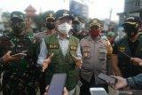 Simulasi Perwali Makassar terkait COVID-19 Makassar jaring 10 pelanggar