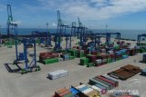Pelindo IV ekspor perdana 18 ton serabut kelapa ke Weifang China