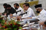 Jokowi tegaskan perampingan 18 lembaga pemerintahan