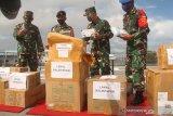 Danguspurla bagikan bantuan APD untuk Lanal Balikpapan dan Sangatta