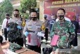 Polisi Bandung tangkap dua TNI gadungan pelaku begal