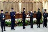 Bupati  sampaikan jawaban terhadap pemandangan umum fraksi DPRD Barut