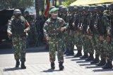 Prajurit Yonif 413/BRM Satgaspam perbatasan Indonesia-PNG tiba di Jayapura