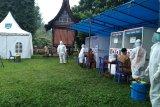 Persiapan sekolah tatap muka, ratusan guru di Payakumbuh ikuti tes usap massal