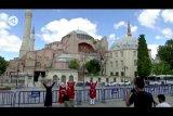 Turki akan beritahu UNESCO,  Museum Hagia Sophia kembali jadi masjid