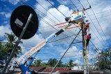 Viral pekerja BTS tergantung diduga tersengat listrik, ini penjelasan PLN UIW Sumbar