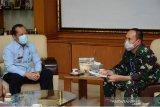 Kakanwil Kemenkumham Sulsel berkunjung ke Kodam/XIV Hasanuddin