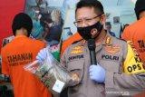 Polresta Mataram menyita 6,68 kilogram ganja jaringan lapas