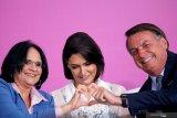 Kini giliran istri presiden Brazil  pula yang positif corona